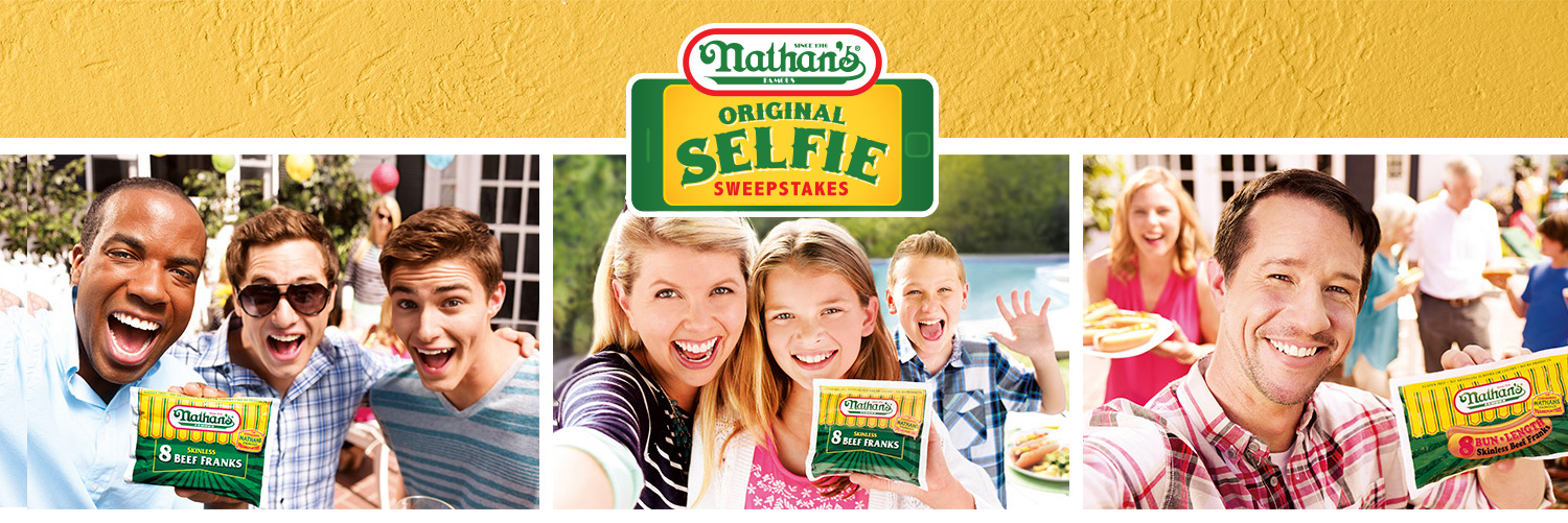 header 1.71e96d510213049a84fb7b3fddbcd928 - Nathan's Famous Original Selfie Sweepstakes
